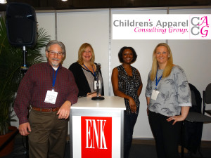 Children's Apparel Consulting Group at the ENK Children's Club Trade Show