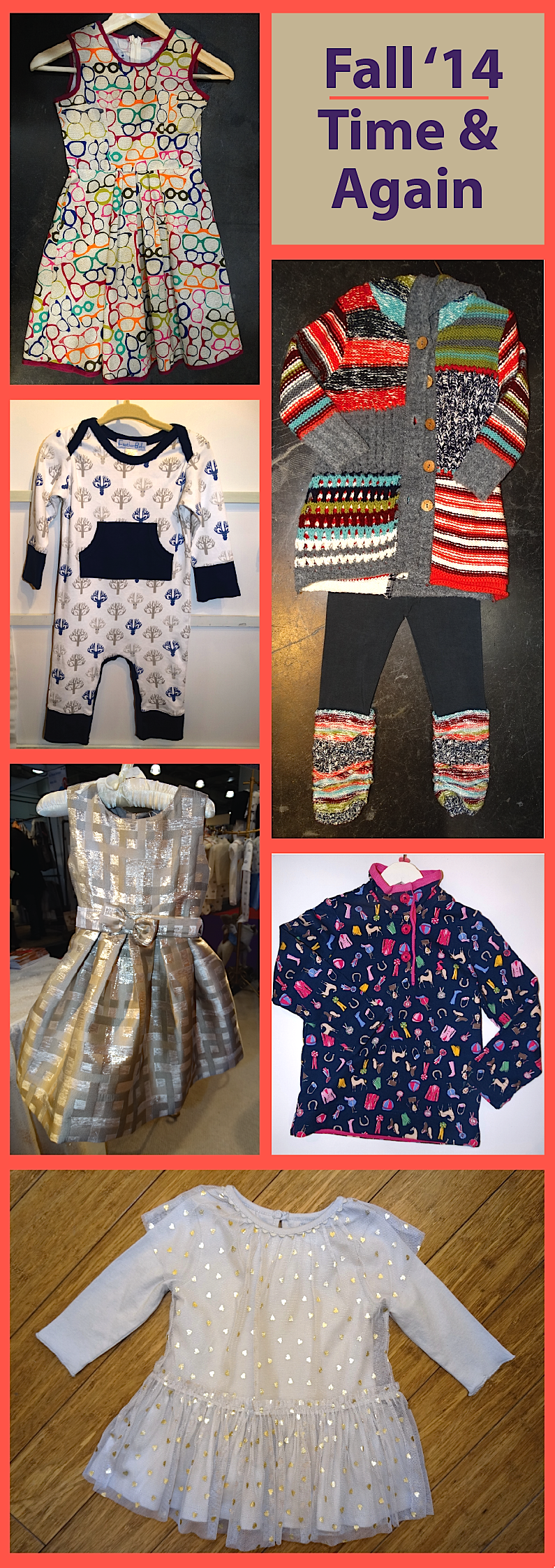 Every line has them, those items or styles stores clamor for season after season. Here's a look at a few styles that remain top sellers: fit-and-flare dresses from Fiveloaves Twofish, Feather Baby's kangaroo-pocket playsuits, Mimi & Maggie's mixed media sweaters, party dresses from Rachel Riley, equestrian themes from Little Joule and tulle dresses from Stella McCartney.