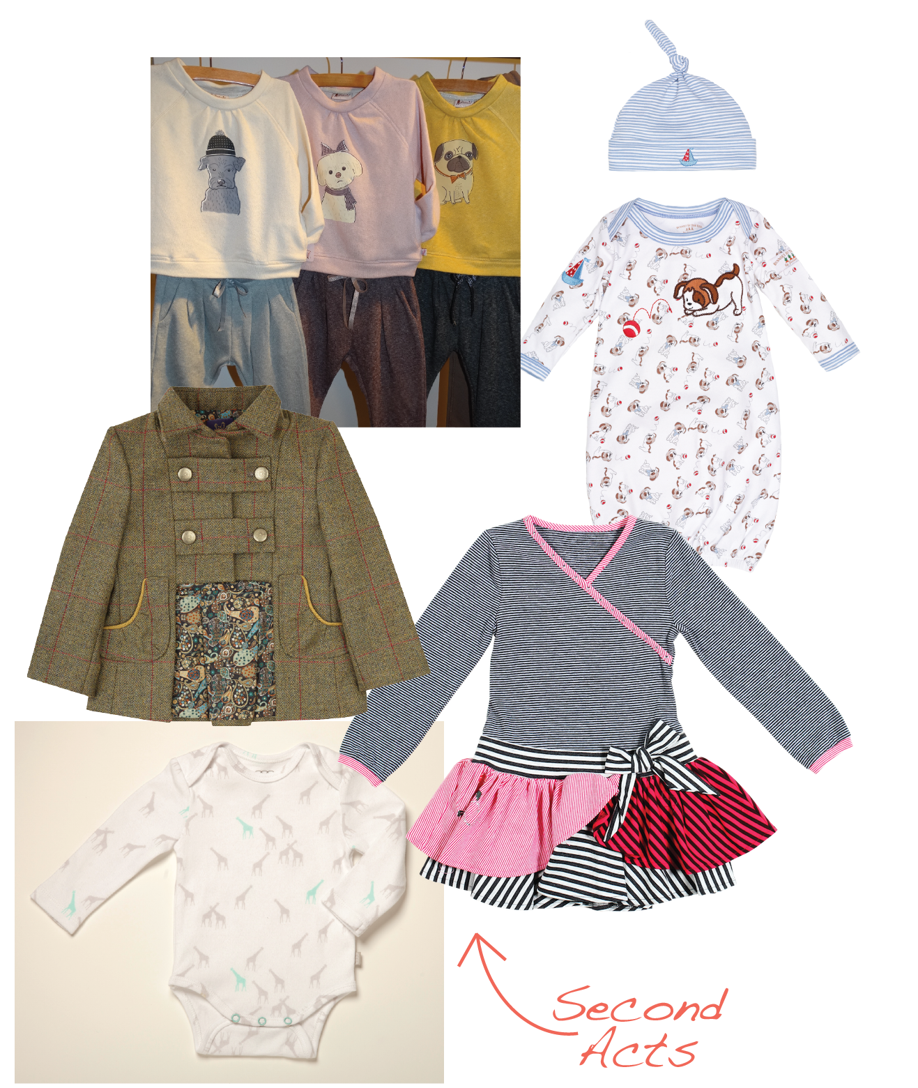 Think you know what these companies have to offer? Think again! Each is branching out with new product categories for fall. Floatimini adds sportswear, Jaxxwear welcomes Bunnies by the Bay, Coccoli pushes into playwear, Egg Baby dives into layette and Unruly Blue bows girls' wear.